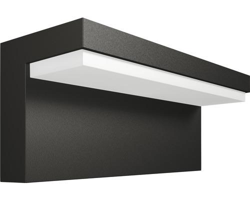 LED Wandaußenleuchte 4,5W 1000 lm warmweiß Bustan anthrazit