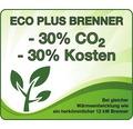 Enders Elegance Heizstrahler Gasheizstrahler Heizpilz mit stufenloser Regulierung und Eco Plus Brenner 8 kW mit Umkippsicherung 218 cm Edelstahl