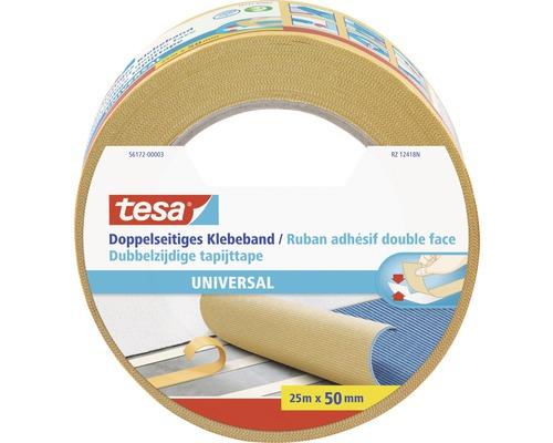 tesa doppelseitiges Klebeband Universal 25m x 50mm