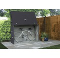 Gartenschrank Fahrradbox Sesame 185x76x129 cm anthrazit