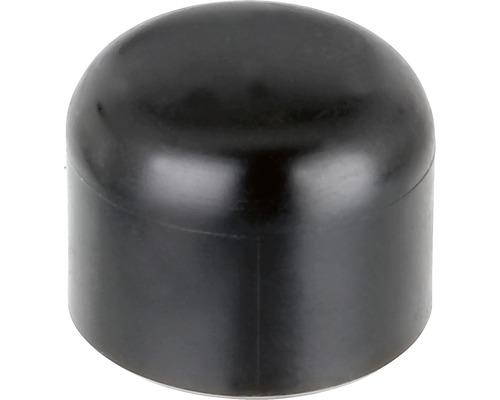 Pfostenkappe für Metallpfosten rund 34 mm schwarz