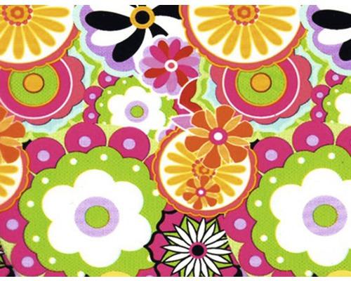 Wassertransferdruck Folie Blumen bunt CD-206 100 x 50 cm