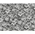 Wassertransferdruck Folie Blumen CD-79-4 100 x 50 cm