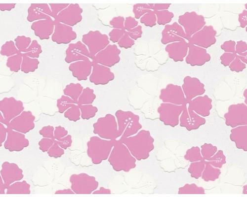 Wassertransferdruck Folie Blumen pink CD-280 100 x 50 cm