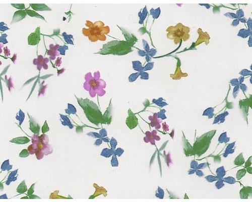 Wassertransferdruck Folie Blumen bunt CD-189 100 x 50 cm