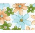 Wassertransferdruck Folie Blumen CD-277-2 100 x 50 cm