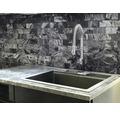 Natursteinmosaik XMI 115 30,5x32,5 cm silber/grau