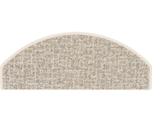 Stufenmatte Antwerpen hellbeige 28x65 cm