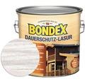 BONDEX Dauerschutz-Lasur weiß 2,5 l