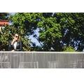 Sichtschutzmatte CATRAL WPC 300x180 cm grau