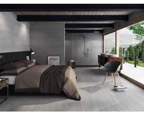 Sockel District gris 8x45 cm