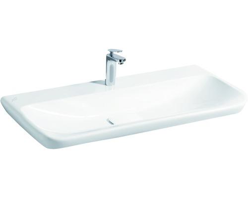 Keramag / GEBERIT Waschtisch myDay 100 cm ohne Überlauf weiß mit KeraTect Glasur 125400600