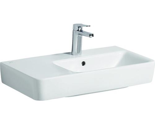 Keramag / GEBERIT Waschtisch Renova Compact 65 cm Ablage links weiß 226265000