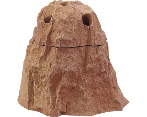Dekoration VARIOGART Vase Sandstein-rot