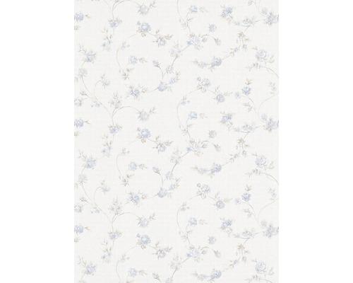 Vliestapete 582408 Vie en rose Floral blau