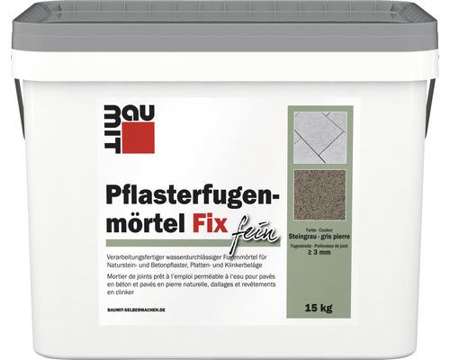 Pflasterfugenmörtel Fix Fein Steingrau 15 kg