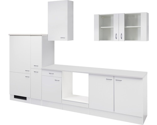 Küchenleerblock Wito 300 cm weiß
