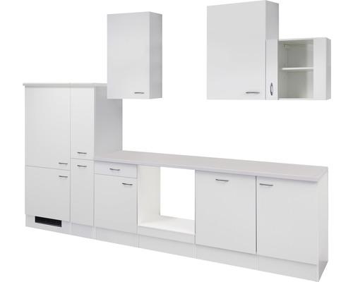 Küchenleerblock Wito 310 cm weiß