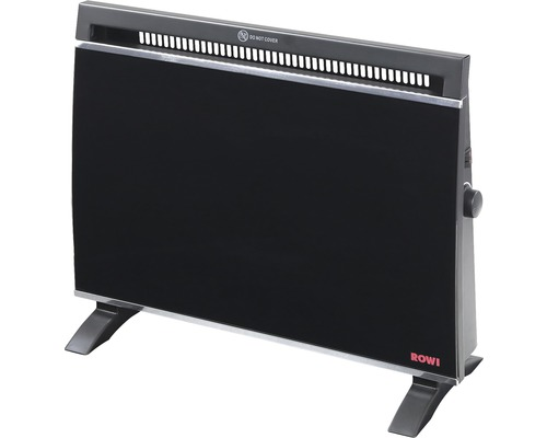 Glas-Wärmekonvektor Rowi 1500 W IP X0
