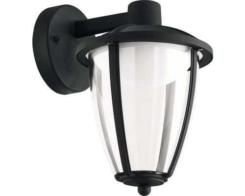 LED Außenwandleuchte 1x6W 500 lm 3000 K warmweiß H 275 mm Comunero schwarz hängend