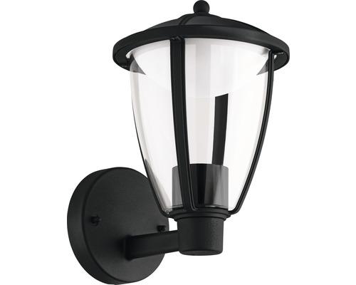 LED Außenwandleuchte 1x6W 500 lm 3000 K warmweiß H 275 mm Comunero schwarz stehend