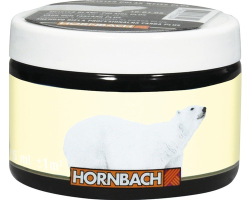 Farbtester Meister Polarweiß Plus Farbton 00.01.05 hellgelb 125 ml