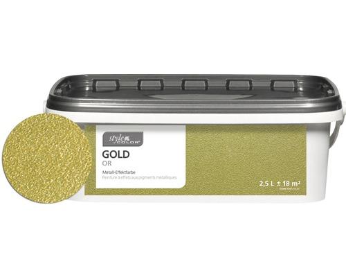 Wandfarbe Stylecolor Gold 2 5 L Bei Hornbach Kaufen