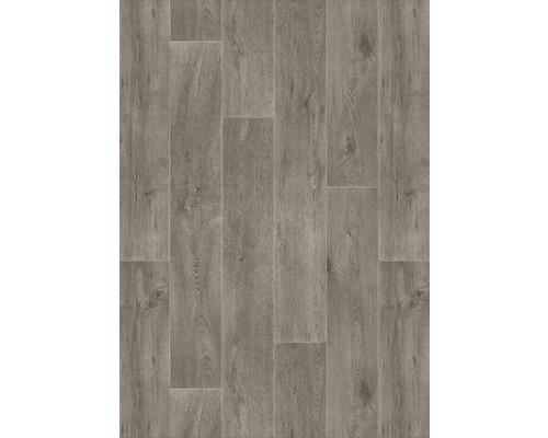 400 cm breit 300 BODENMEISTER BM70400 Vinylboden PVC Bodenbelag Meterware 200 Holzoptik Diele Eiche creme wei/ß