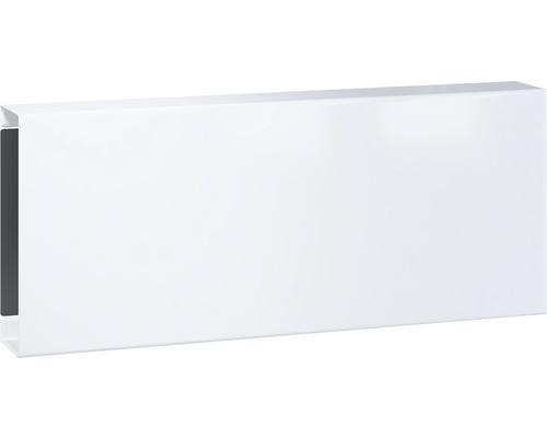Serafini Zeitungsfach Stahlblech pulverbeschichtet BxHxT 360/150/100 mm SQUARE verkehrsweiß 30.7129.43