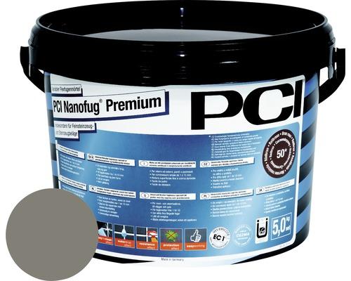PCI Nanofug Premium Variabler Flexfugenmörtel für alle Fliesen und Natursteine zementgrau 5 kg