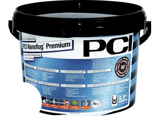 PCI Nanofug Premium Variabler Flexfugenmörtel für alle Fliesen und Natursteine weiss 5 kg