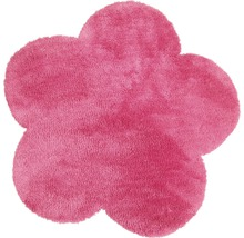 Teppich Blume pink 60x60 cm