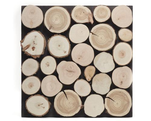 Holzverblender Firewood Rundholzoptik