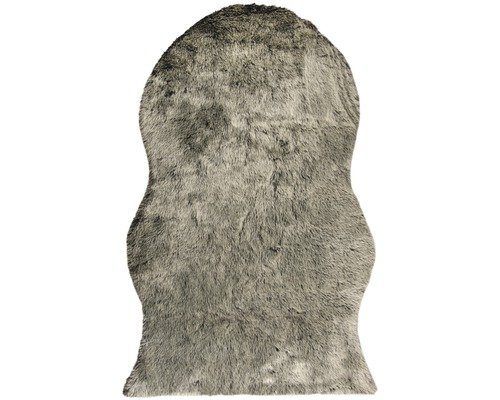 Kunstfell Shape schwarz 140x200 cm