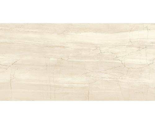 Wandfliese Savoy 30 x 60 cm beige glassiert matt Rundkante
