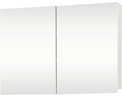 Spiegelschrank Brida weiß 2 türig 67,5x50 cm