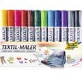 Textilmaler 12er-Set