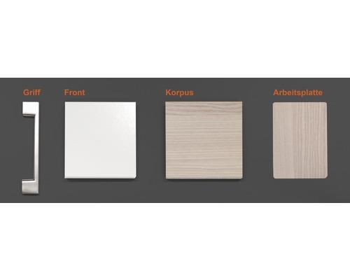 Musterpaket Küchenzeile ABACO 190 x 170 x 70 mm