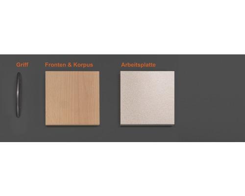 Musterpaket Küchenzeile NANO 190 x 170 x 70 mm