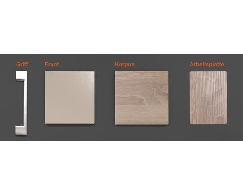 Musterpaket Küchenzeile NEPAL 190 x 170 x 70 mm