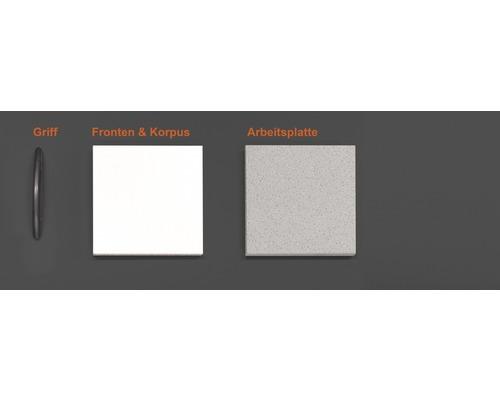 Musterpaket Küchenzeile WITO 190 x 170 x 70 mm
