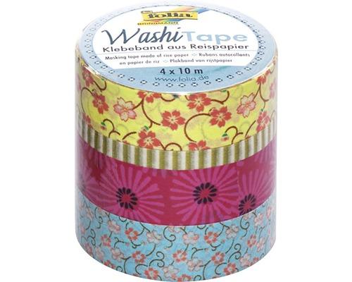 Washi-Tape Blumenregen 4er-Set