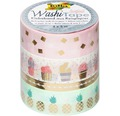 Washi-Tape Hotfoil Gold 4er-Set