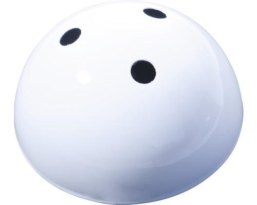 Lampen Baldachin 3-fach Metall weiß Ø 100 mm