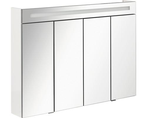 Spiegelschrank FACKELMANN Stanford weiß 110x78,5x16,5 cm IP 20