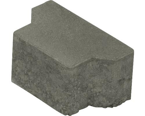 Pflasterstein Doppel T-Verbundpflaster Halbstein grau 10 x 16,5 x 8 cm