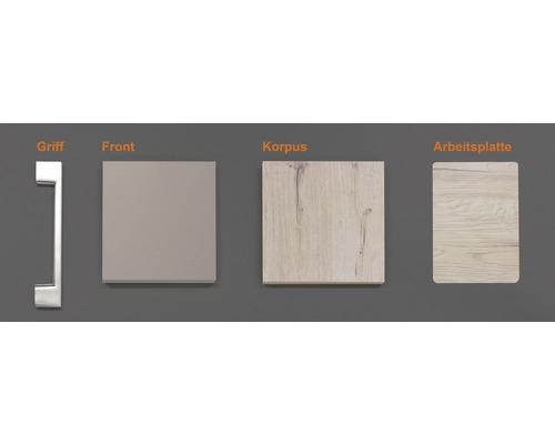 Musterpaket Küchenzeile RIVA 190 x 170 x 70 mm
