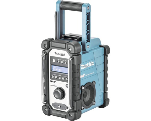 Akku-Baustellenradio Makita DMR110 7,2 V - 18 V mit DAB+ ohne Akku