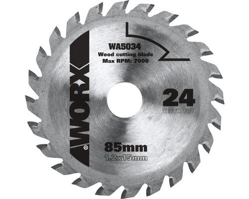 Sägeblatt Worx 24 Z für Versacut