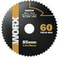 Sägeblatt Worx 60 Z für Versacut